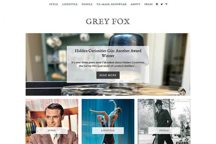 Grey Fox Website