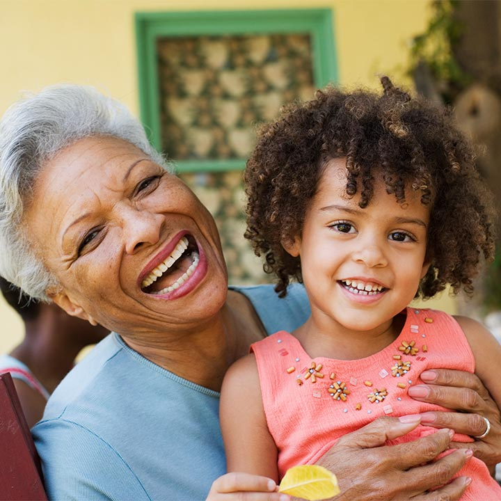 Grandma and Grandchild - Elder Resources, Speaking, and Advocacy